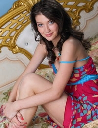 This amazing looking brunette enjoy with exhibiting her distinguishing beautiful breasts. Camera eye really loves her.