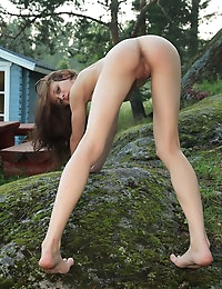 This beautiful fresh chick always enjoy in self play. Especially if cameras in nearby and rolling her perfect sex game.