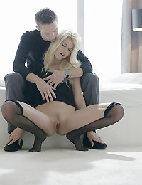 Izzy's boyfriend discovers that there is no sex like makeup sex. She seeks to make things better by submitting her regrets on bended knees -- and offers up her gorgeous ass and superb oral skills as a reminder of how perfect this couple can be. What is Jeryl to do? He cannot help but caress this Czech beauty -- and then blindfold her as his tongue licks her perfect pussy and his cock firmly focuses on more important things. When this hot twosome gets down to serious fucking, all of Izzy's senses come alive! Watch as Izzy -- exclusive to X-Art -- seduces you with her irresistible charms.