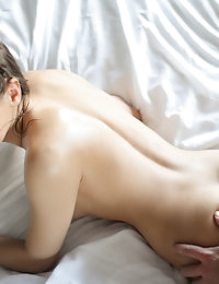 Sara gets a sensual massage that ends up leading to a little be more