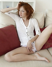 Provocative and sexy Michelle H takes self masturbation to a heightened level of artistic form with beauty to behold.