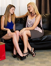 Darryl Hanah wants to show Staci Silverstone what it's like to bang a true MILF.