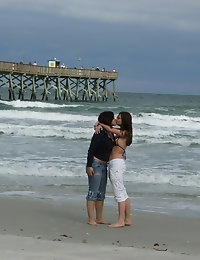 Random pictures from a bunch of teenage girlfriends at the beach