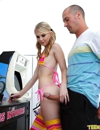 Watch TeensLoveHugeCocks scene Pinball Roller Girl featuring Lily Rader Browse FREE pics of Lily Rader from the Pinball Roller Girl porn video now